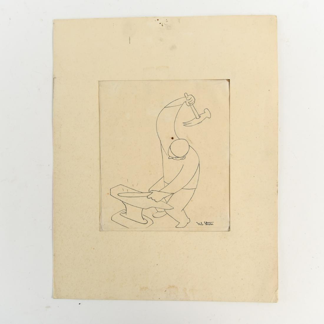 (5) NILS STROM (1903-1971) DANISH ARTIST - 5