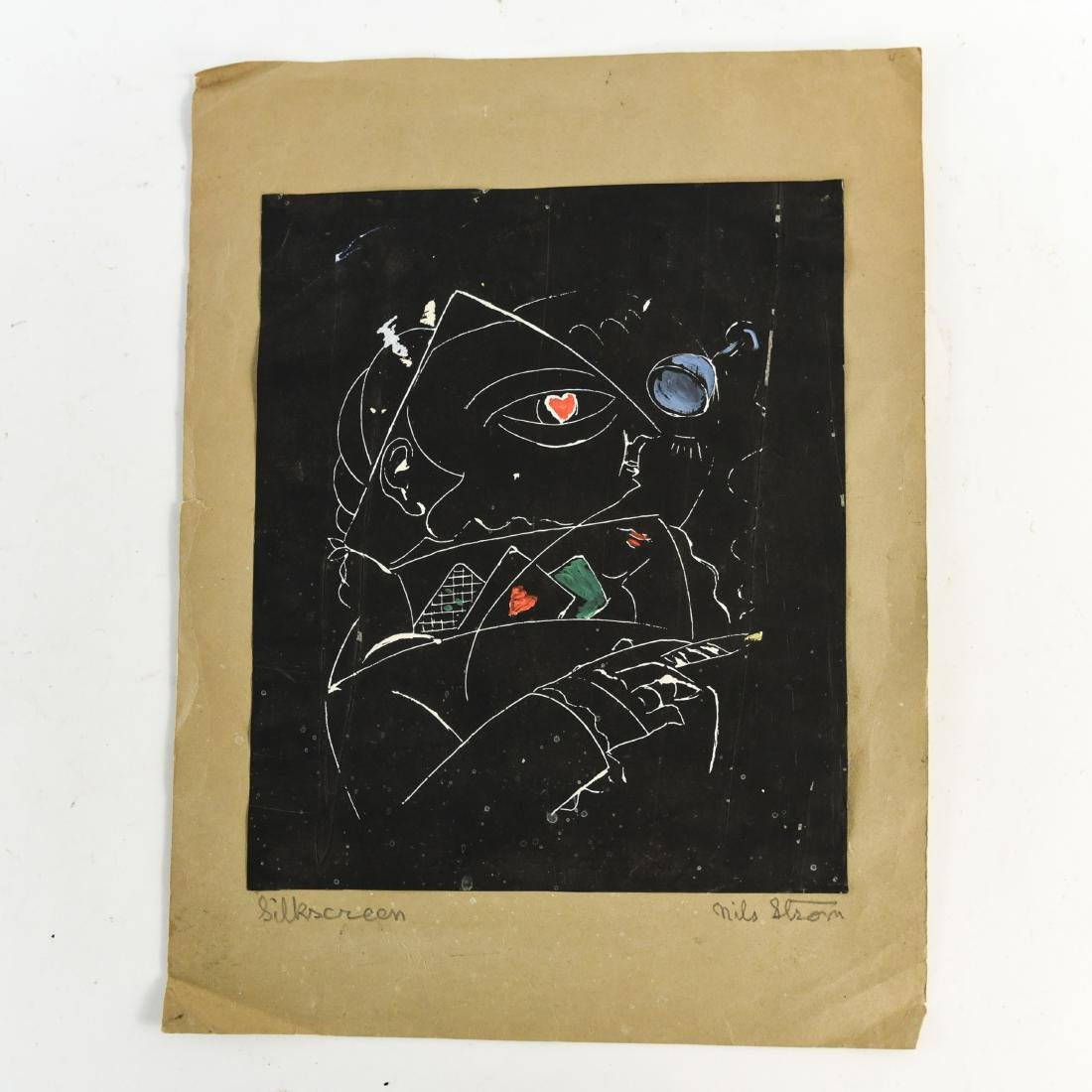 (5) NILS STROM (1903-1971) DANISH ARTIST - 6