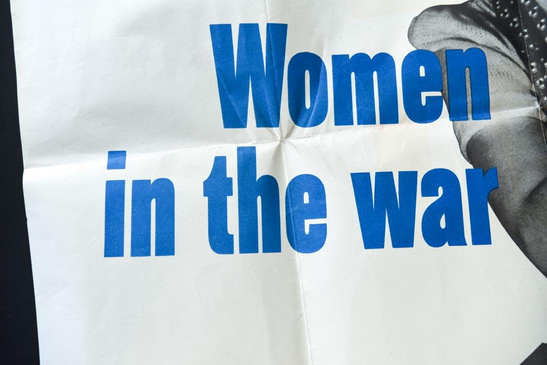 """WWII """"WOMEN IN THE WAR"""" POSTER - 3"""