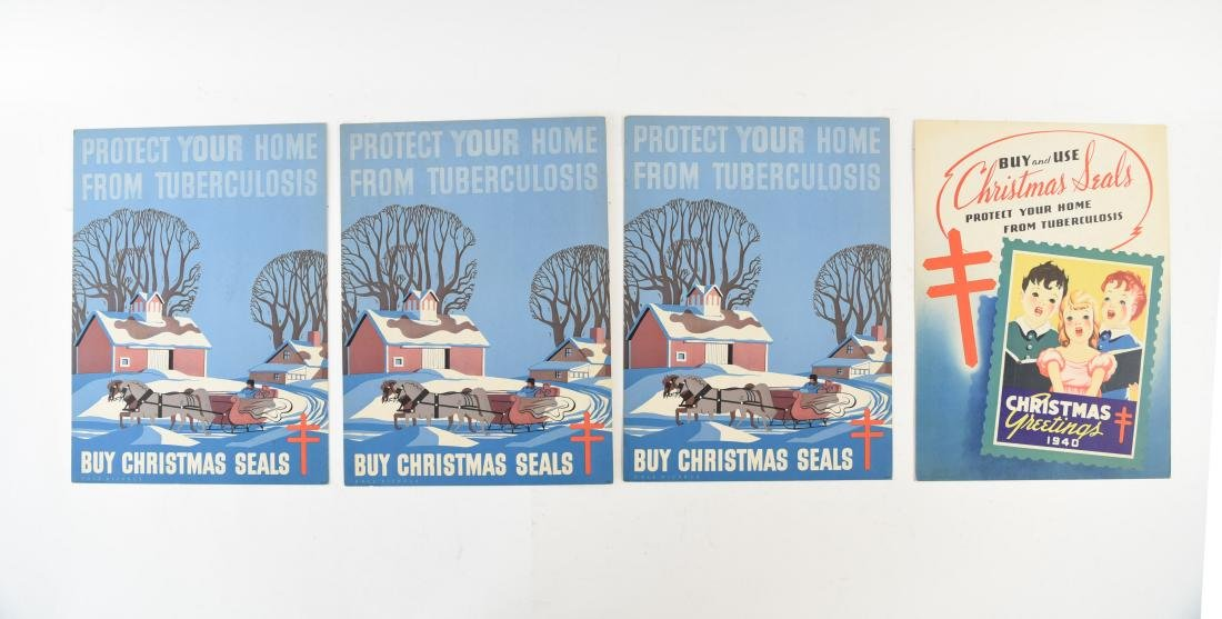 CHRISTMAS SEALS POSTER GROUPING
