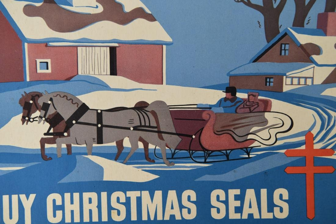 CHRISTMAS SEALS POSTER GROUPING - 4