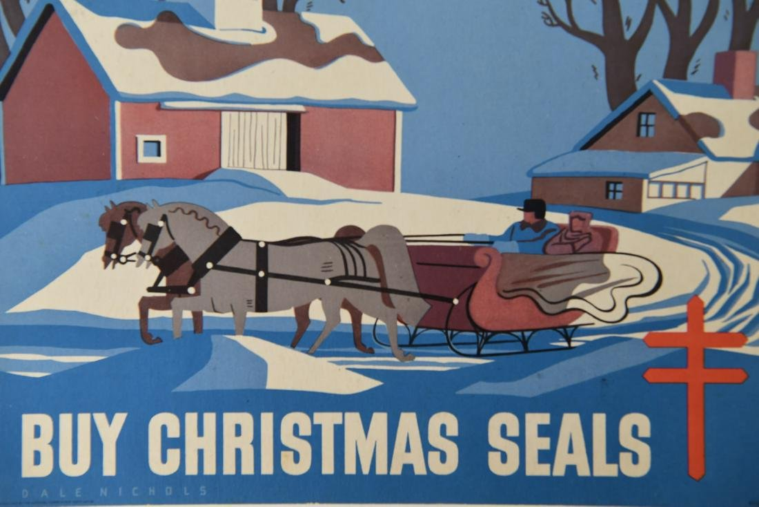 CHRISTMAS SEALS POSTER GROUPING - 5