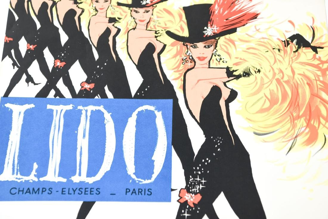 (5) VINTAGE FRENCH DANCE HALL POSTERS - 6