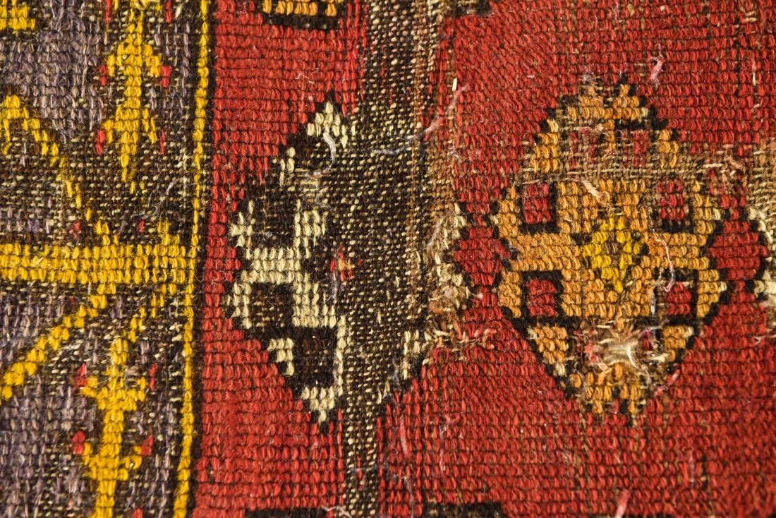 SMALL ANTIQUE TRIBAL RUG - 2