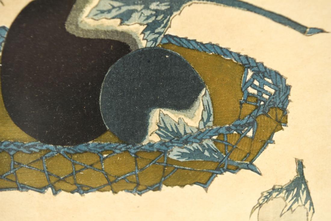 AFTER HOKKEI TOTOYA (JAPAN 1780-1850) PRINT - 4
