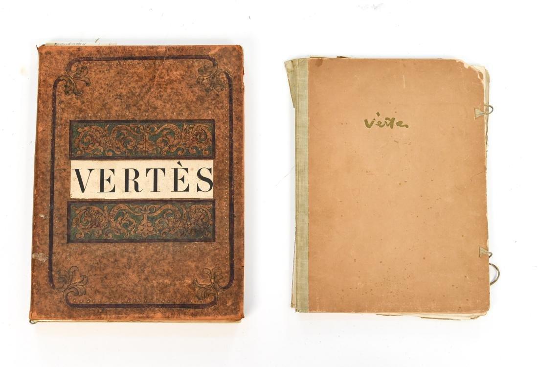 VERTES EROTIC ILLUSTRATIONS PORTFOLIO AND BOOK