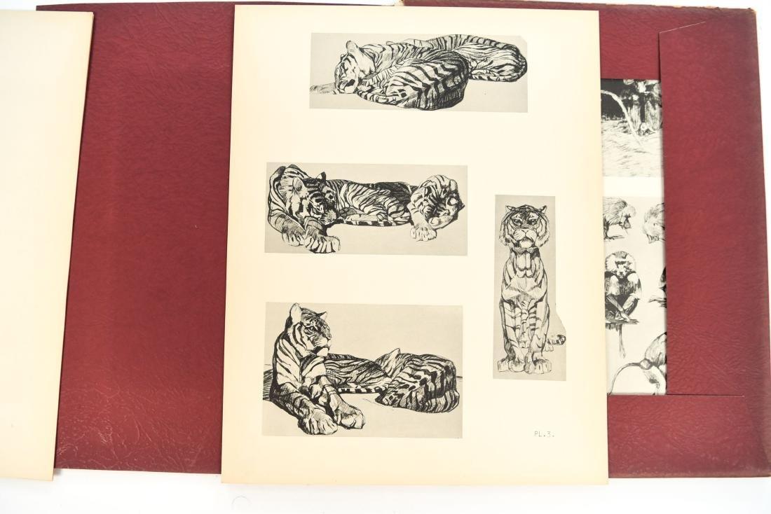 FRENCH PORTFOLIO OF ANIMAL STUDIES BY MEHEUT - 4
