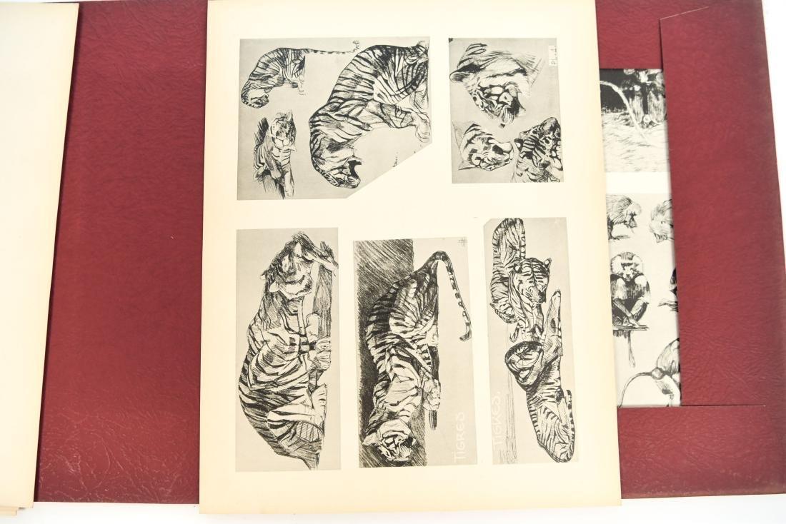 FRENCH PORTFOLIO OF ANIMAL STUDIES BY MEHEUT - 5