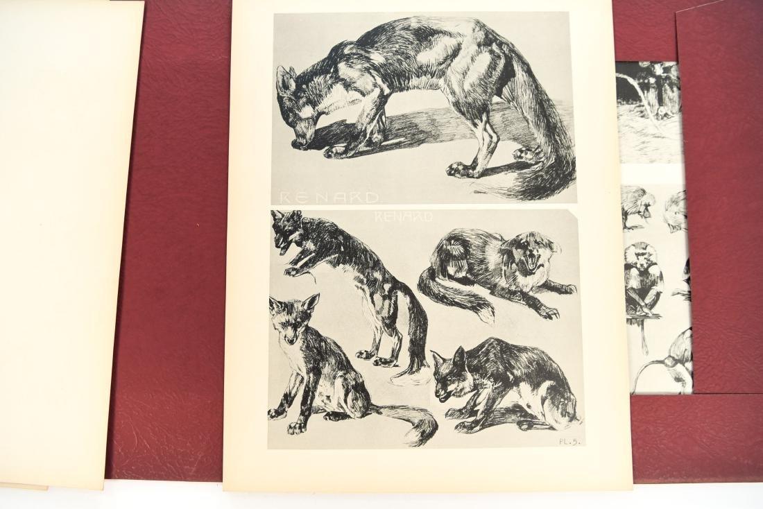 FRENCH PORTFOLIO OF ANIMAL STUDIES BY MEHEUT - 6