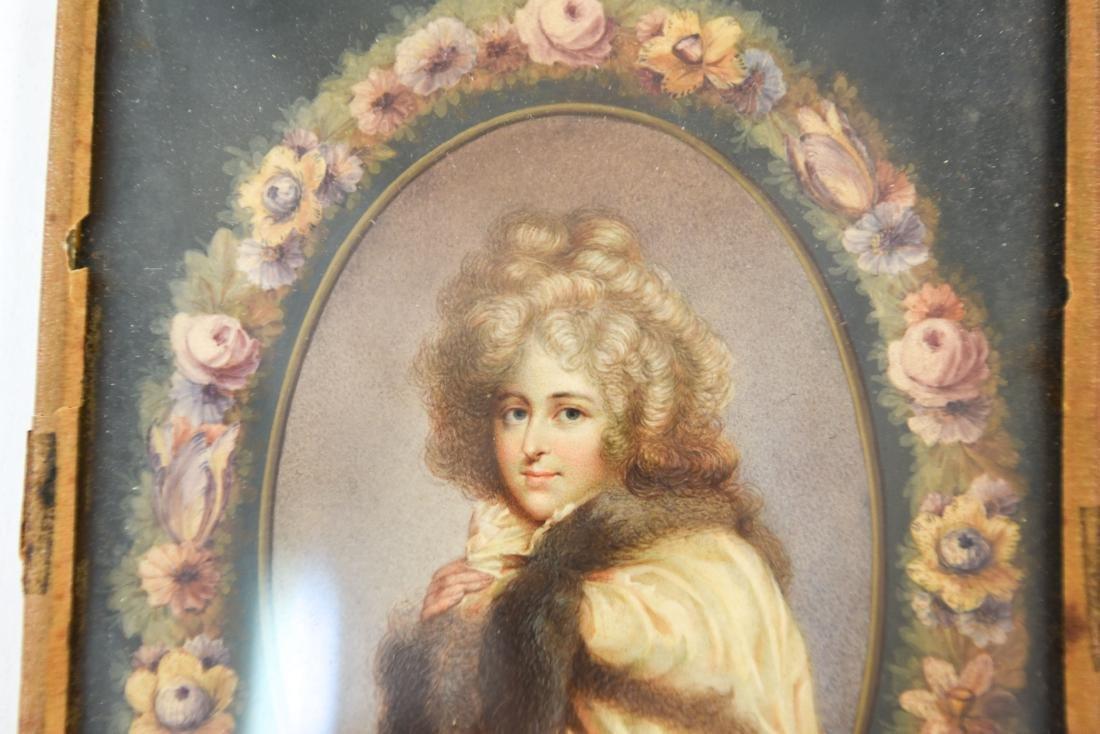 PORTRAIT OF WOMAN IN CONVEX GLASS - 2