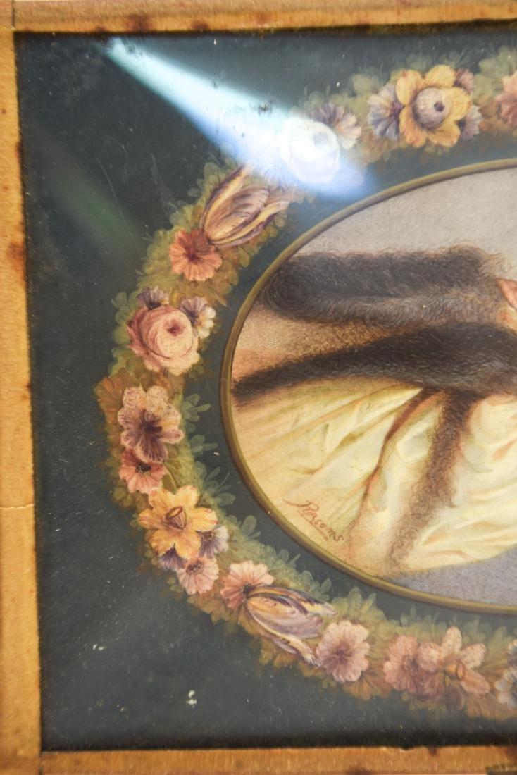 PORTRAIT OF WOMAN IN CONVEX GLASS - 3