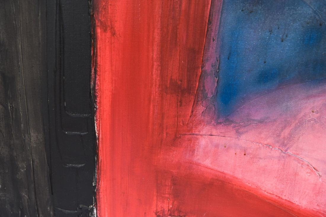 RONALD W. FRICK ACRYLIC ABSTRACT PAINTING - 4