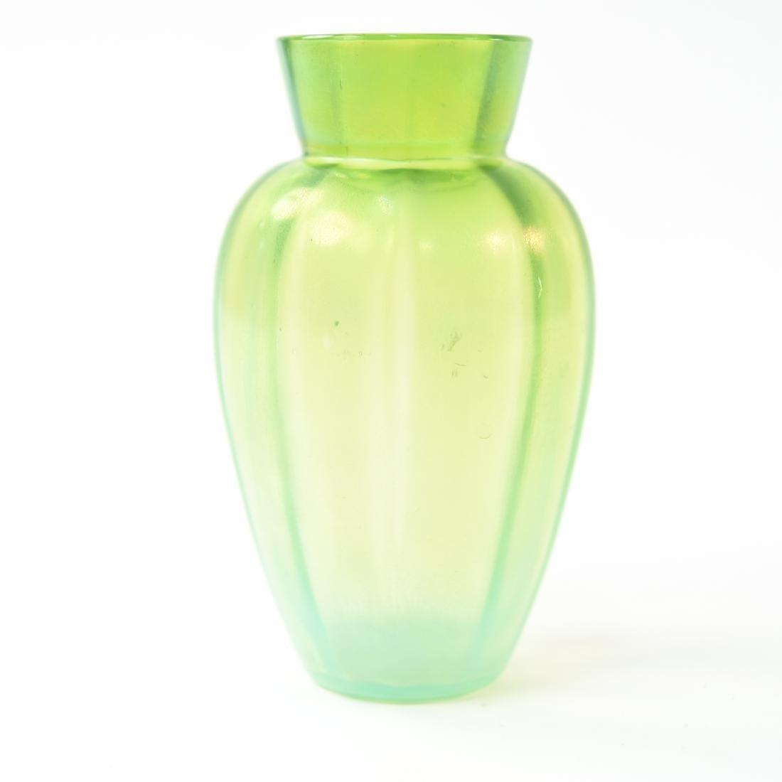 IRIDESCENT ART GLASS VASE