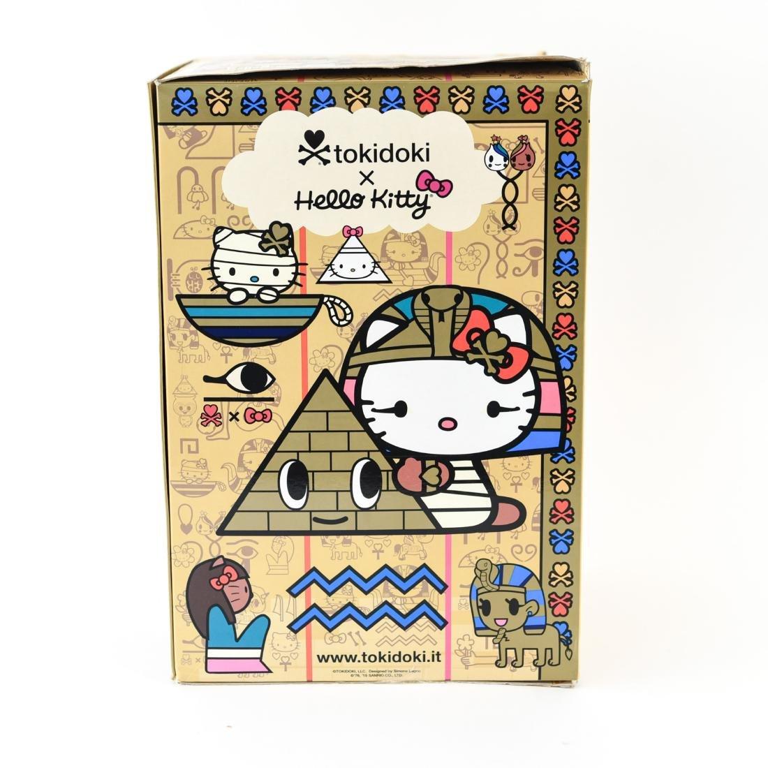 TOKIDOKI X HELLO KITTY KITTYPATRA FIGURE - 6