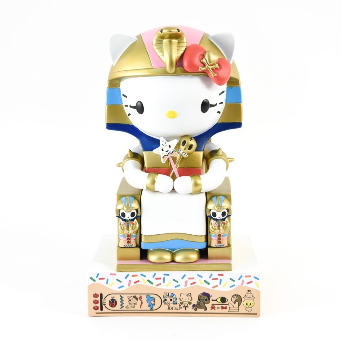 TOKIDOKI X HELLO KITTY KITTYPATRA FIGURE - 7