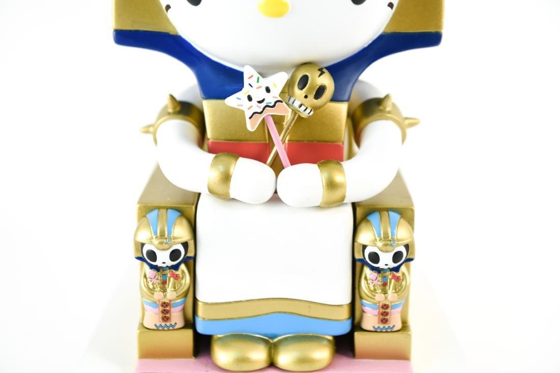 TOKIDOKI X HELLO KITTY KITTYPATRA FIGURE - 9