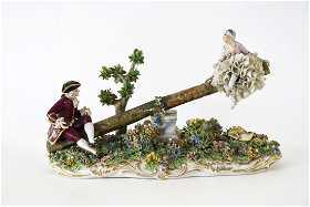 Capodimonte prices 6262 auction price results luigi fabris encaje capodimonte porcelain seesaw altavistaventures Image collections