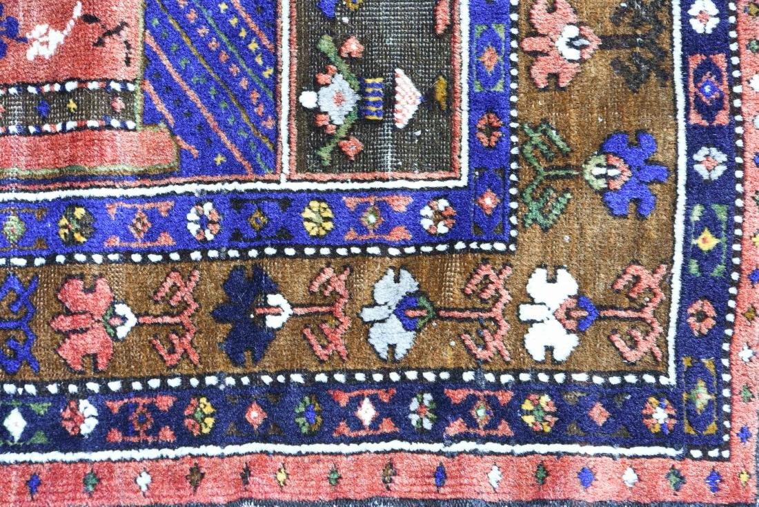HAND WOVEN TURKISH WOOL RUG - 6