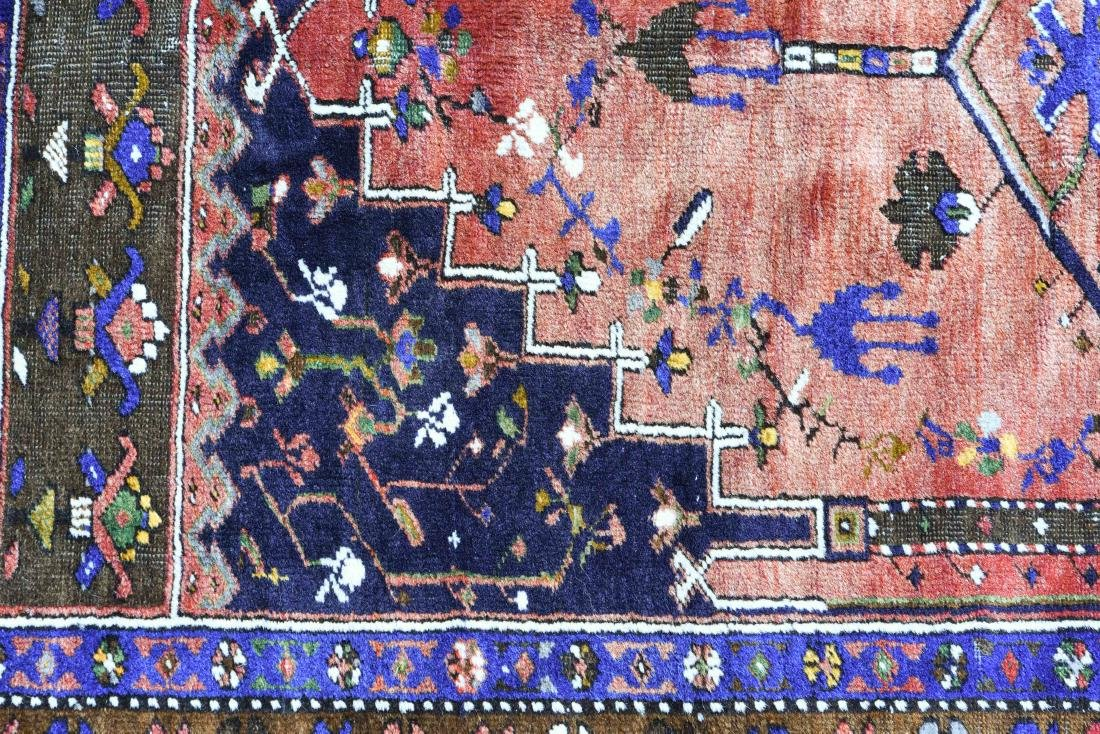 HAND WOVEN TURKISH WOOL RUG - 8