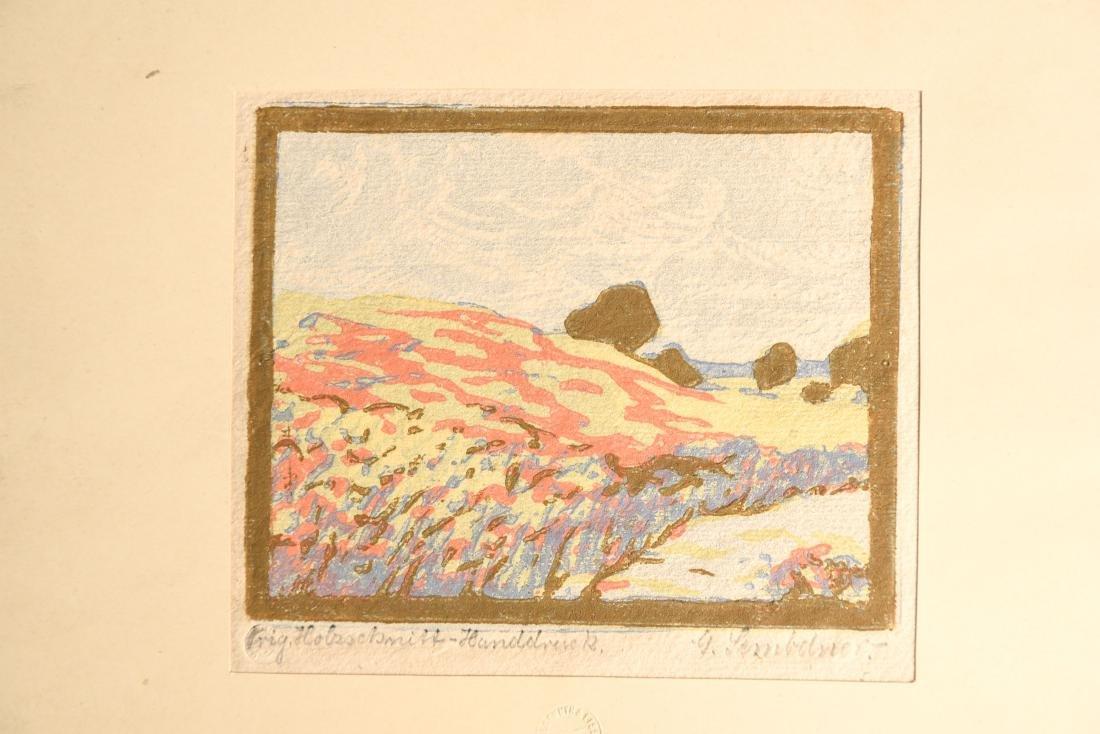 GERTRUD SCEMBDNER (GERMAN 1880-1966) - 8