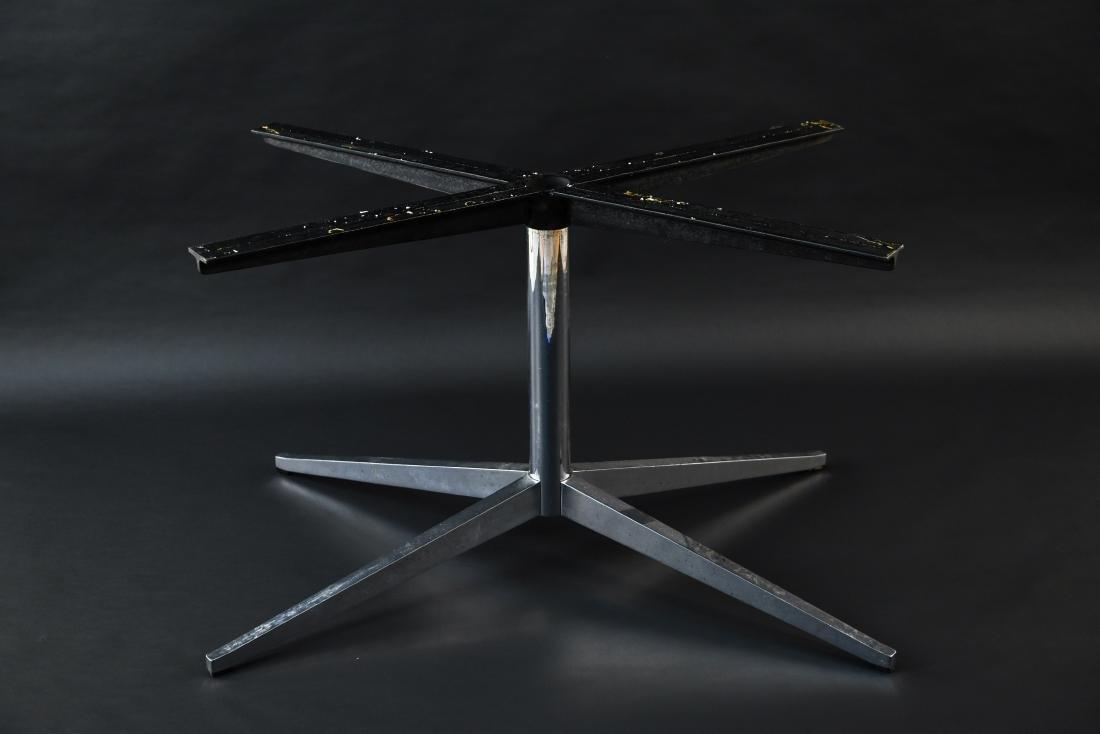 FLORENCE KNOLL X-FORM PEDESTAL TABLE BASE