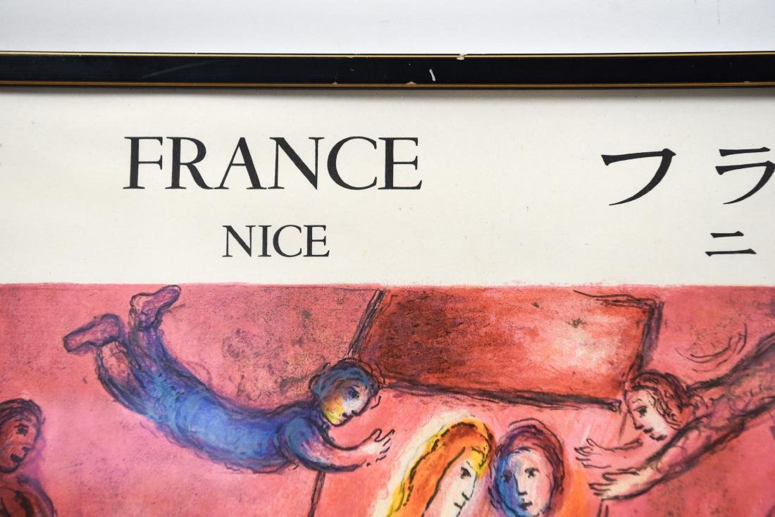 MARC CHAGALL VINTAGE POSTER - 3