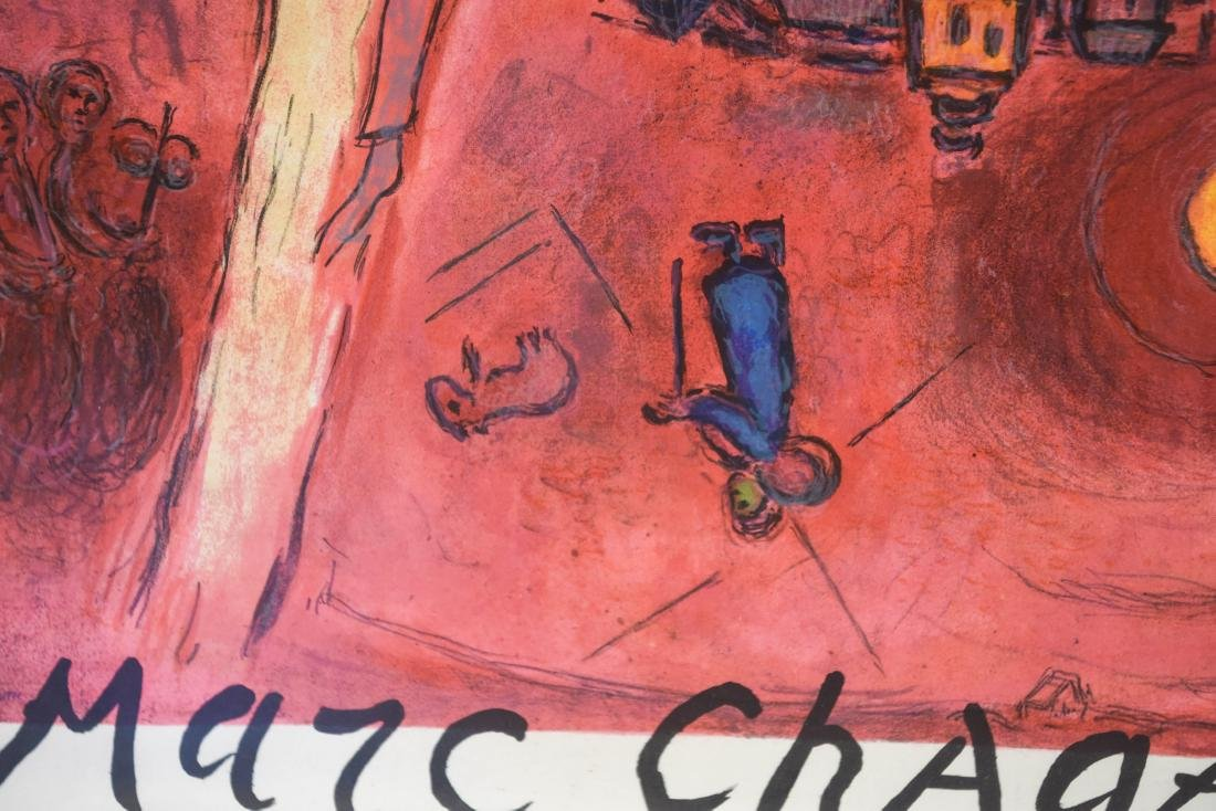 MARC CHAGALL VINTAGE POSTER - 6
