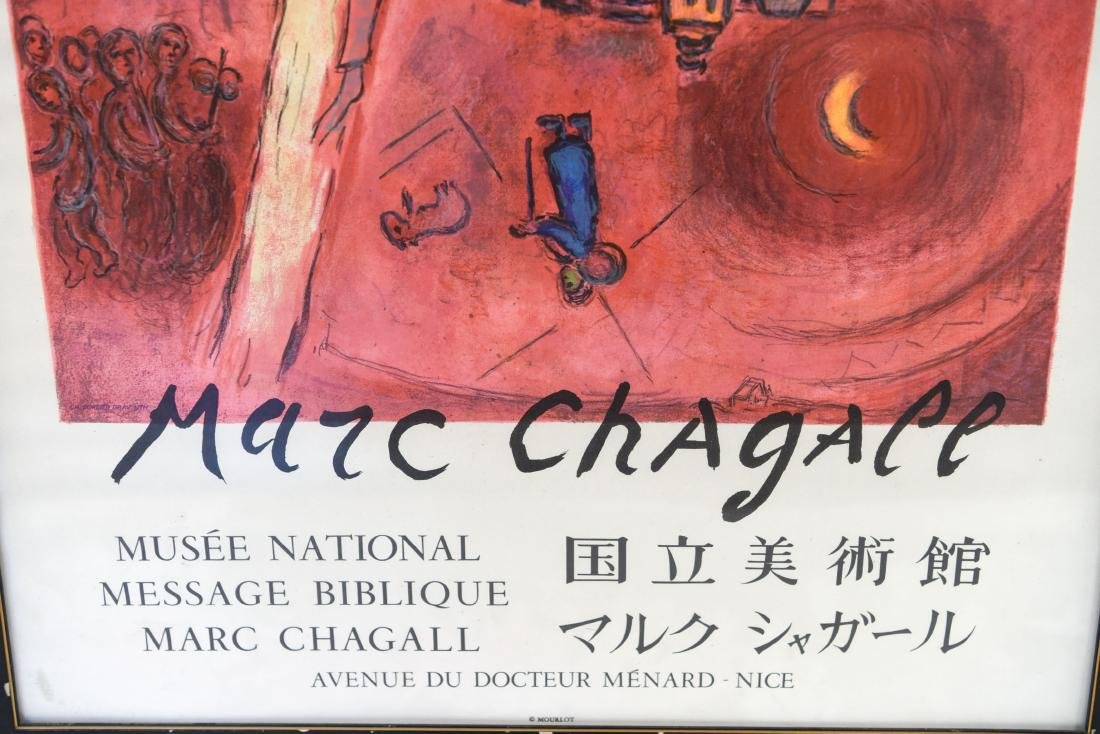 MARC CHAGALL VINTAGE POSTER - 7