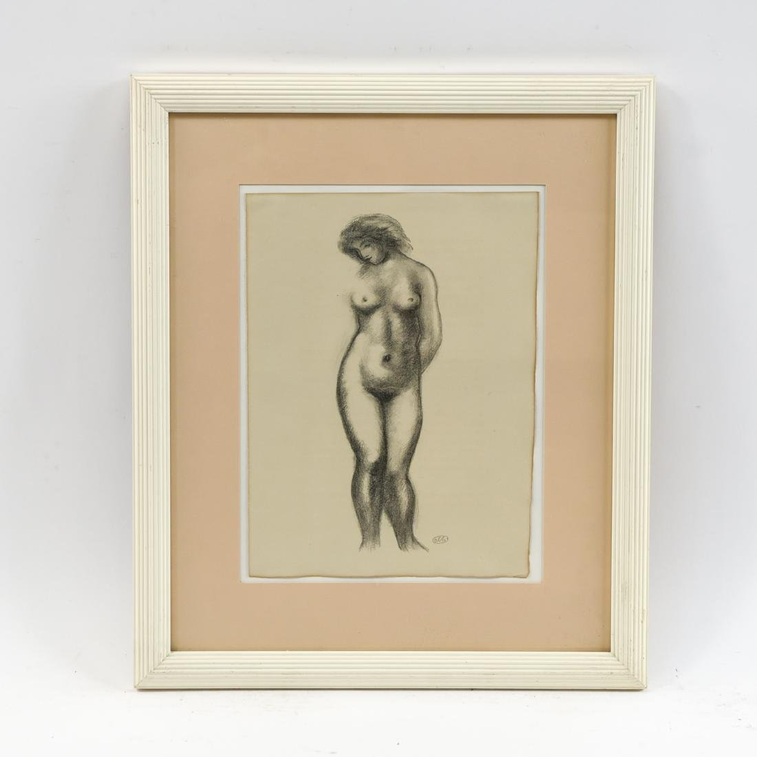 MAILLOT LITHOGRAPH OF NUDES