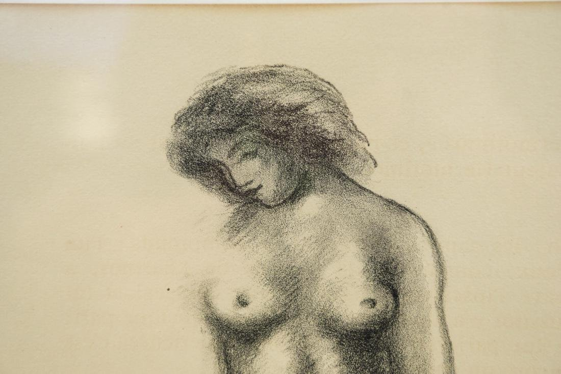 MAILLOT LITHOGRAPH OF NUDES - 3
