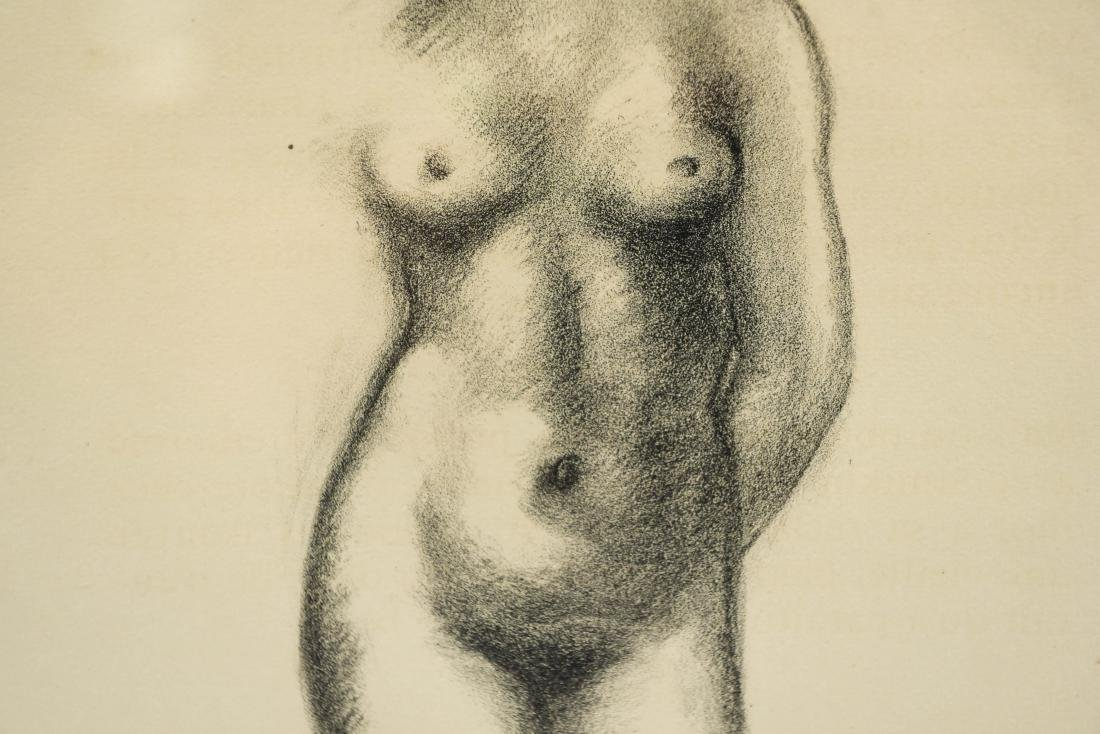 MAILLOT LITHOGRAPH OF NUDES - 4