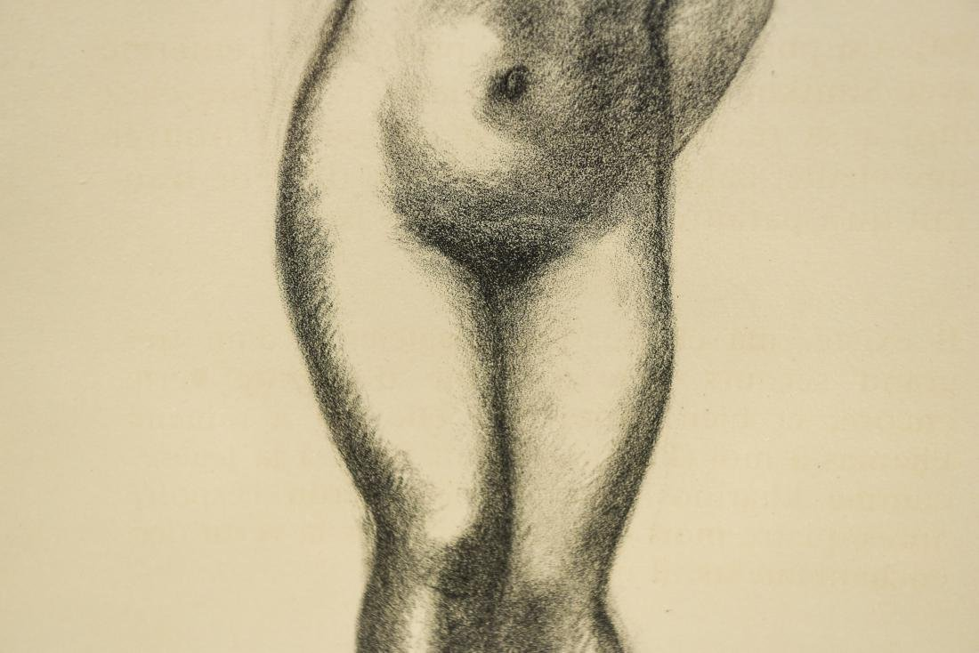 MAILLOT LITHOGRAPH OF NUDES - 5