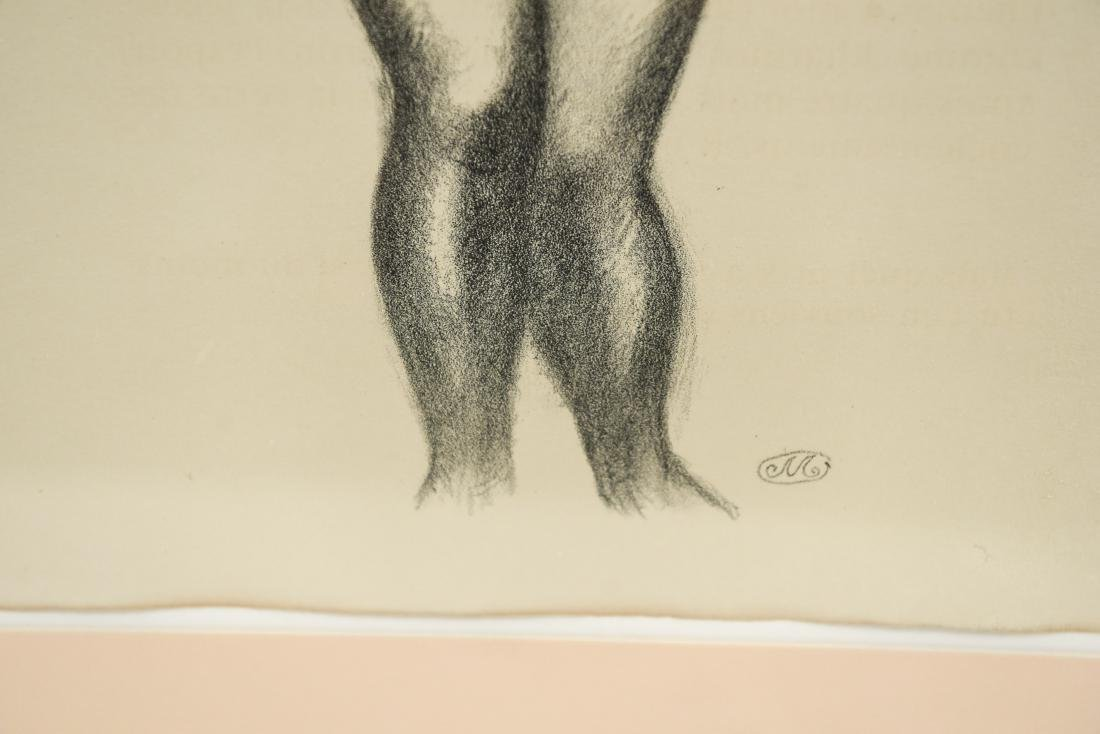 MAILLOT LITHOGRAPH OF NUDES - 6