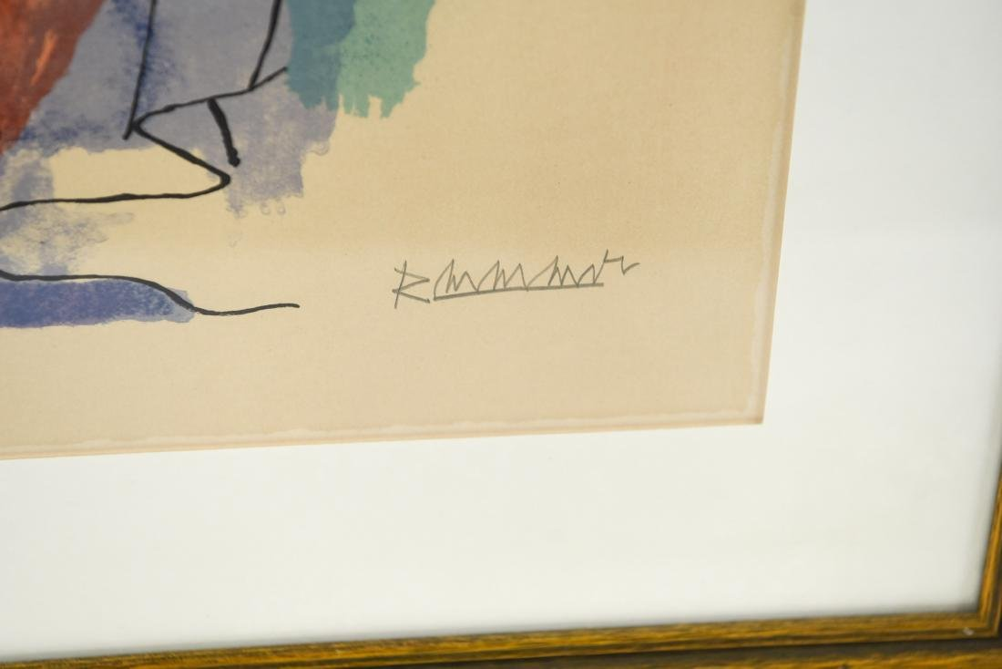 ABRAHAM RATTNER (AMERICAN 1893-1978) - 2