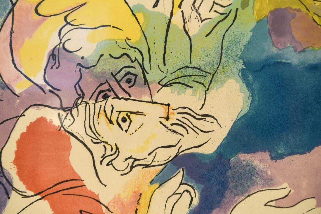 ABRAHAM RATTNER (AMERICAN 1893-1978) - 4