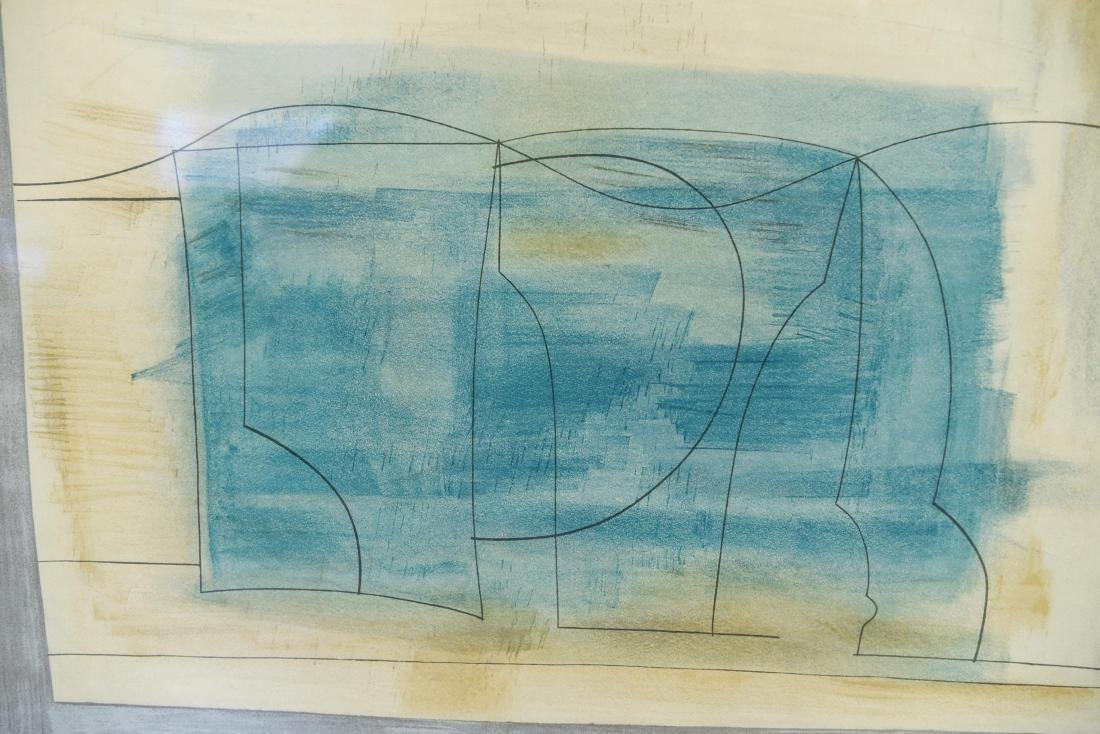 ABSTRACT LITHOGRAPH - 2
