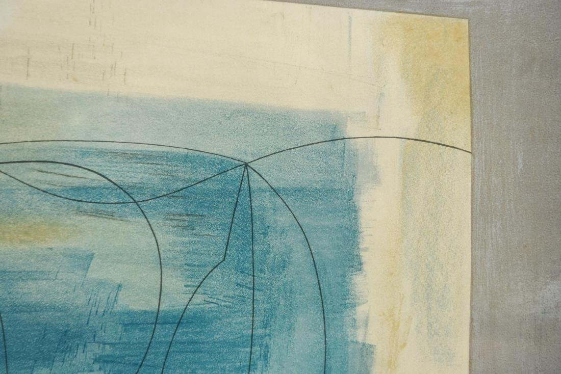 ABSTRACT LITHOGRAPH - 3