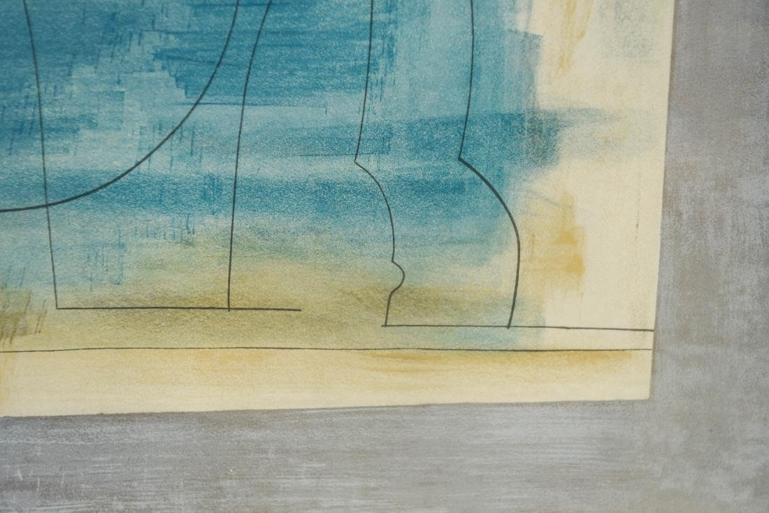 ABSTRACT LITHOGRAPH - 4