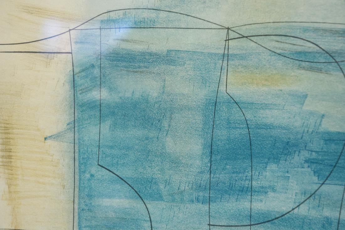ABSTRACT LITHOGRAPH - 5