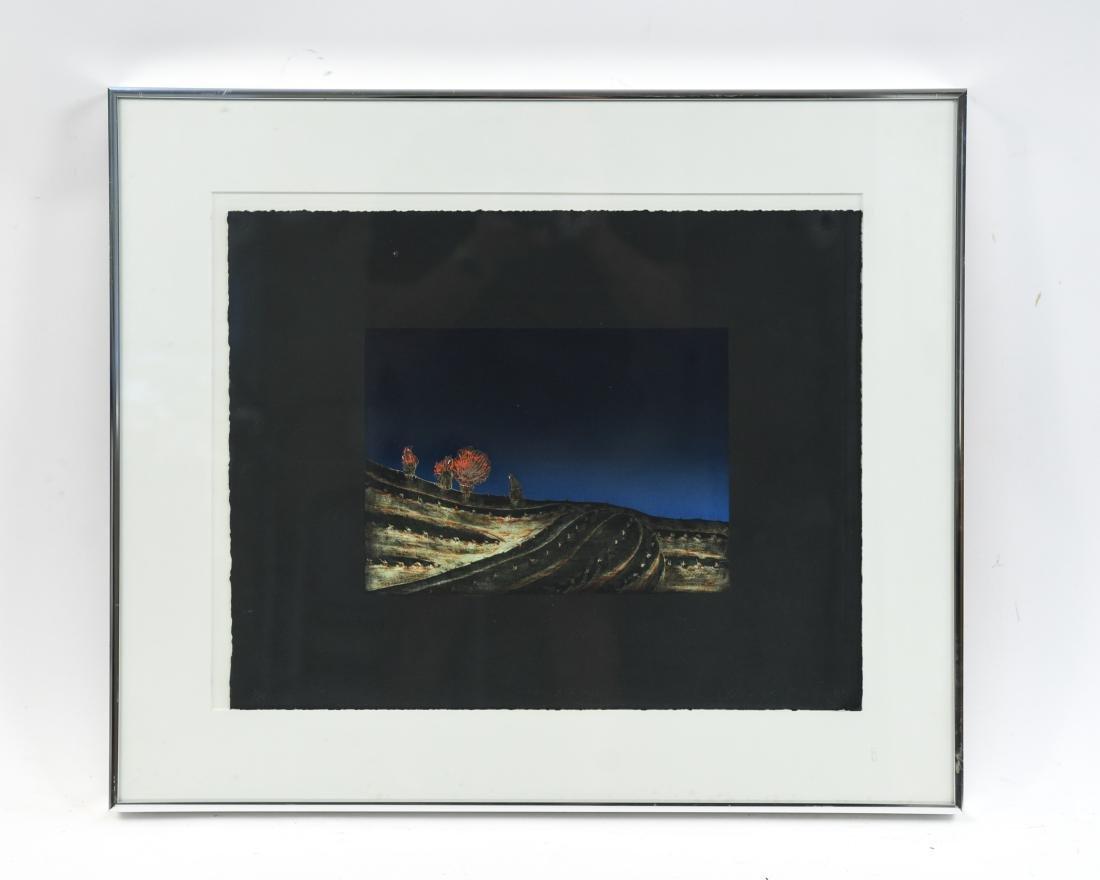 KENEJILO NANAO (JAPANESE 1929-2013) LITHOGRAPH