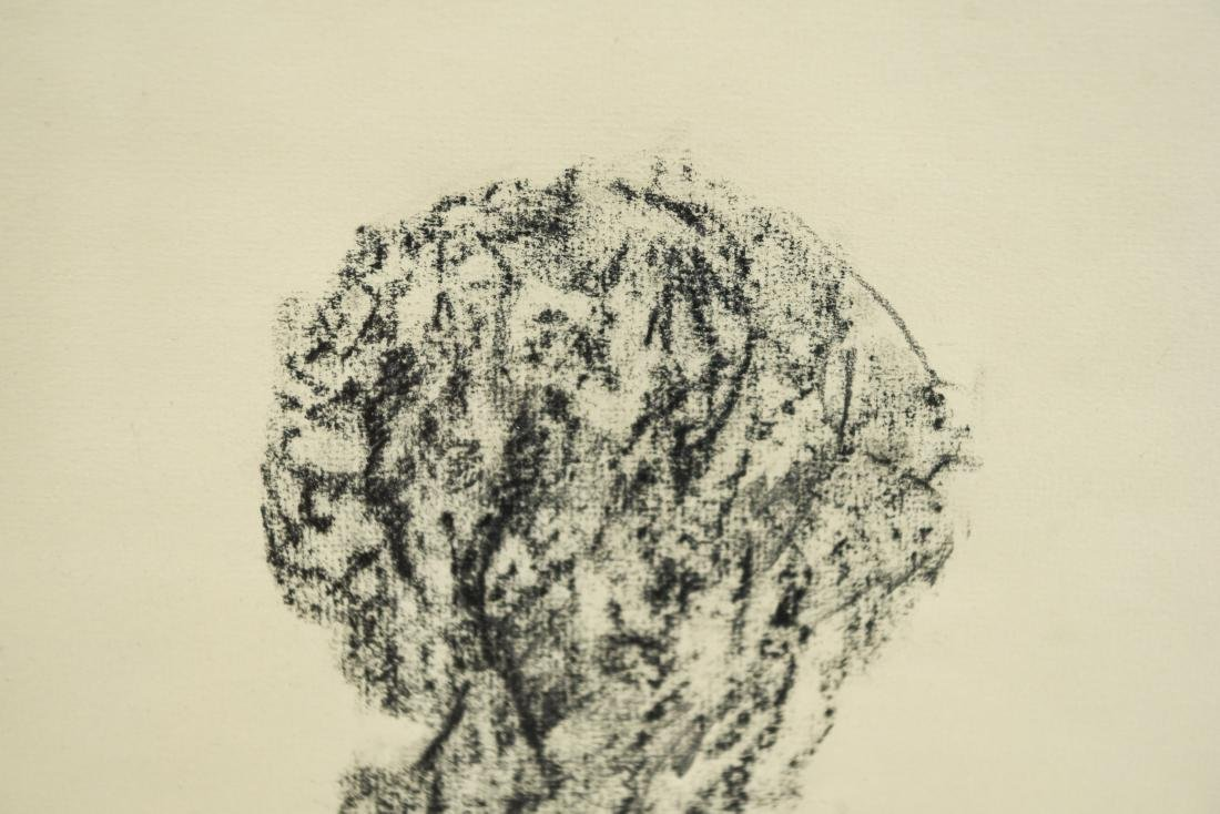 DOMINICK DIMEO (B. 1927) CHARCOAL DRAWING ON PAPER - 8