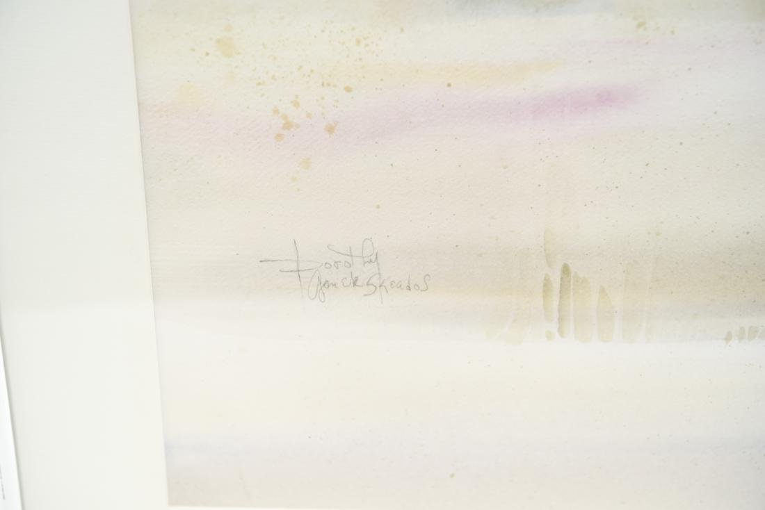 DOROTHY GANEK WATERCOLOR ON PAPER - 2