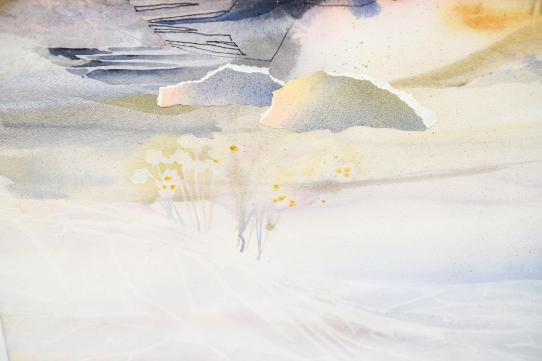 DOROTHY GANEK WATERCOLOR ON PAPER - 4