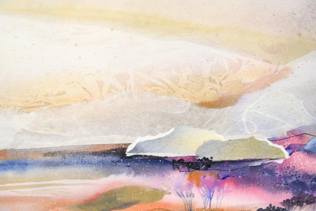 DOROTHY GANEK WATERCOLOR ON PAPER - 8