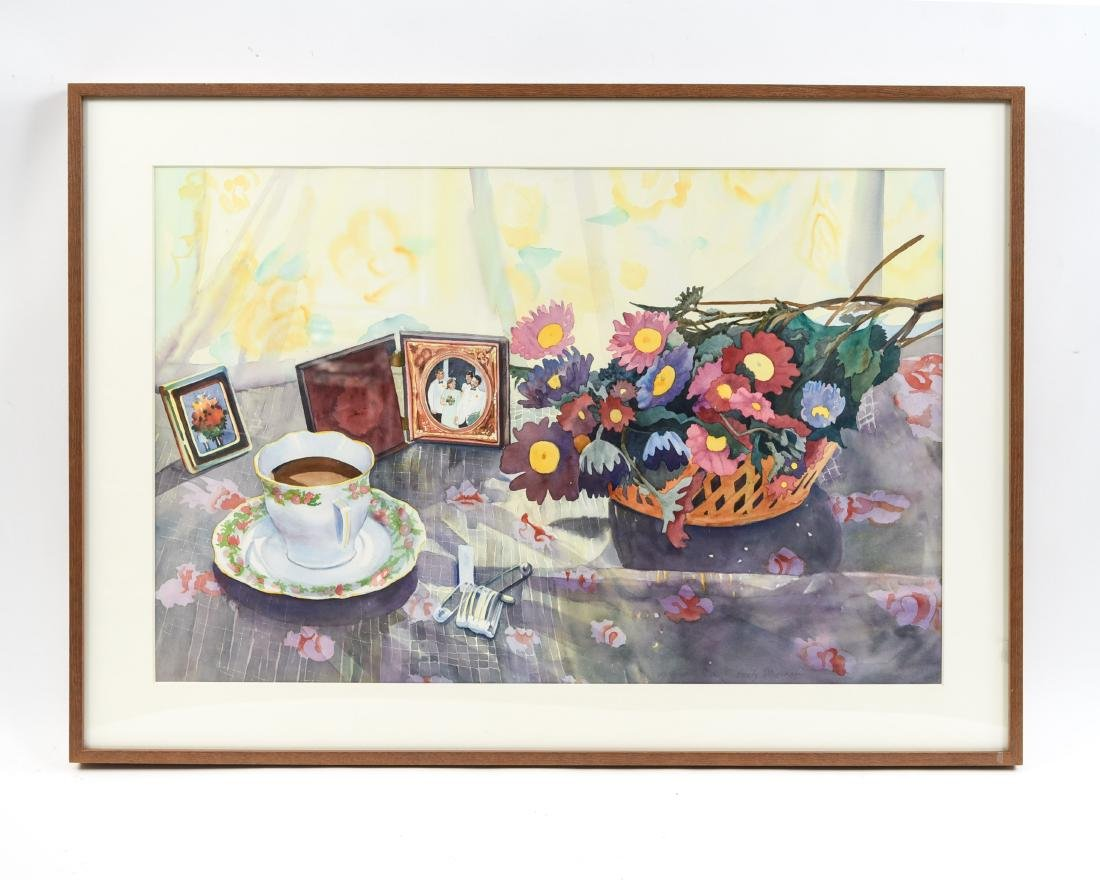 EMILY STEADMAN WATERCOLOR STILL LIFE