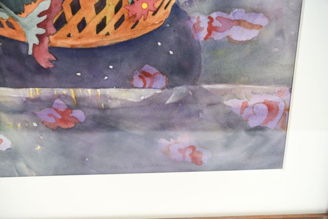 EMILY STEADMAN WATERCOLOR STILL LIFE - 5