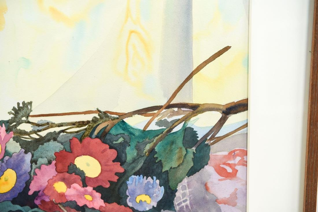 EMILY STEADMAN WATERCOLOR STILL LIFE - 6
