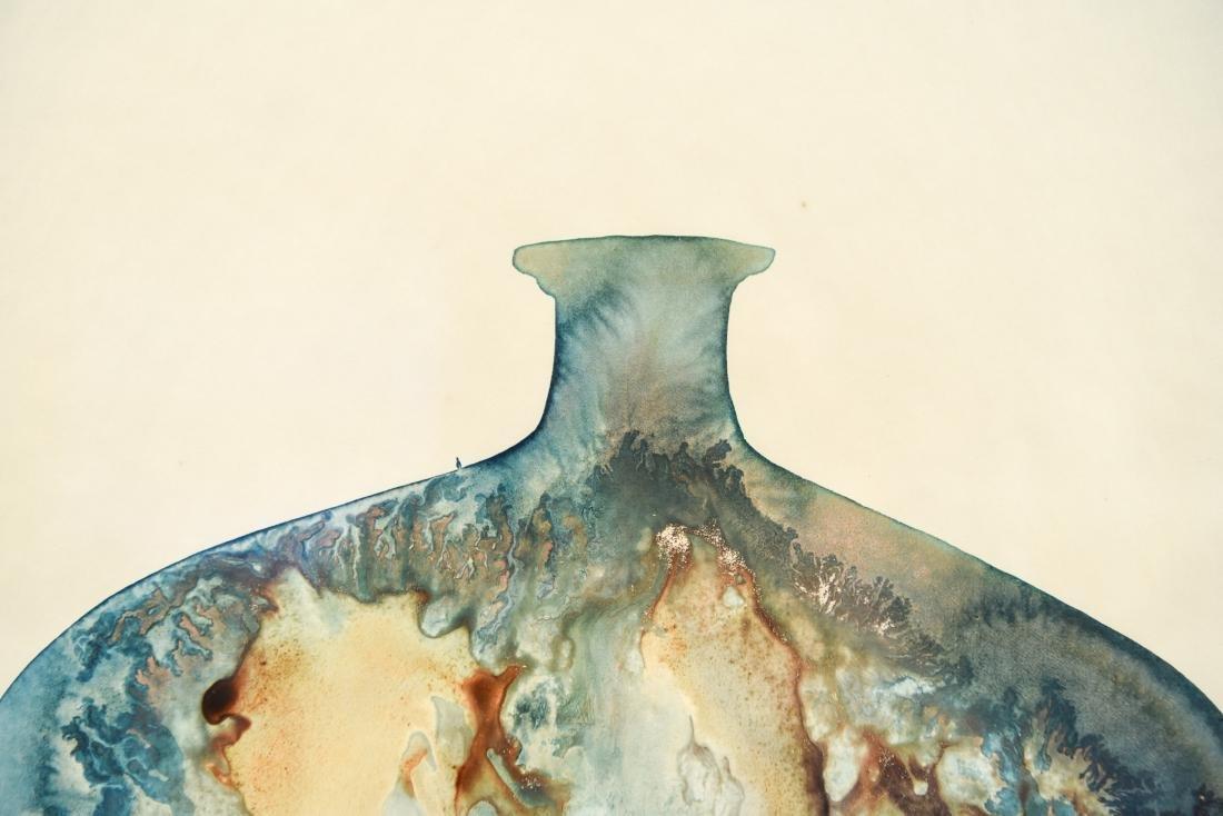 SALLY SPOFFORD (2) VASE WATERCOLORS - 6