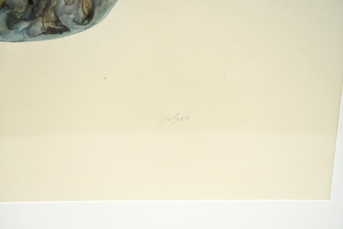 SALLY SPOFFORD (2) VASE WATERCOLORS - 9
