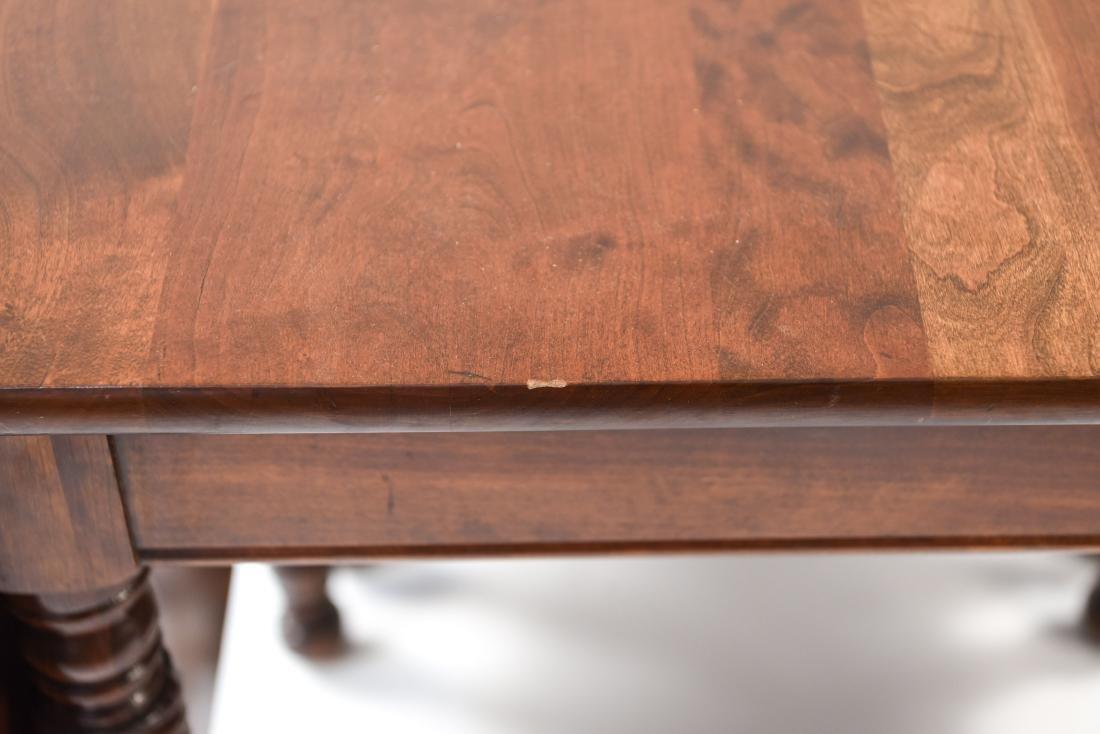 MAHOGANY DROP LEAF DINING TABLE - 5